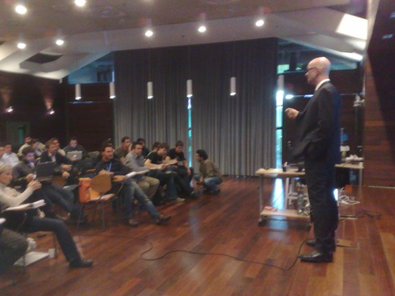 Carlos Domingo (Telefónica I+D) en SeedRocket