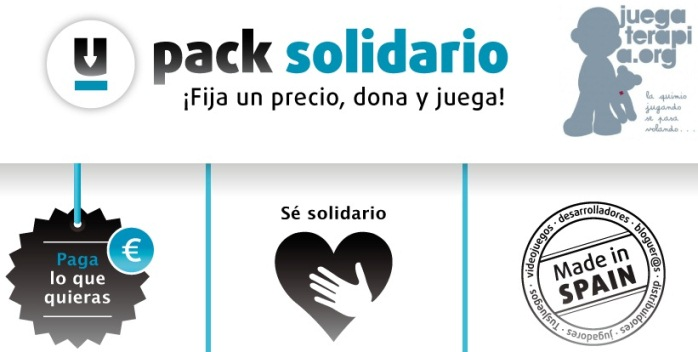 Pack Solidario Juegaterapia