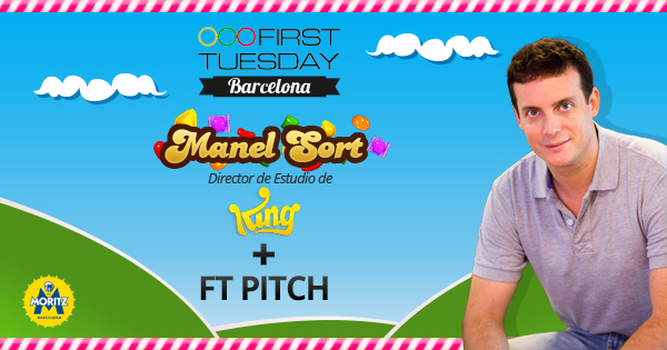 first tuesday king barcelona facebook Manel Sort, Head of Studios de King en el First Tuesday Barcelona de febrero