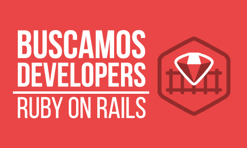 rubydevelopers banner Buscamos Developers Ruby on Rails