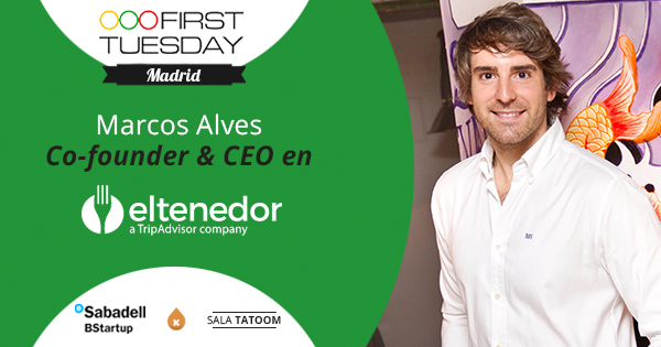first tuesday eltenedor facebook First Tuesday mayo: Miguel Vicente (agotado) y Marcos Alves